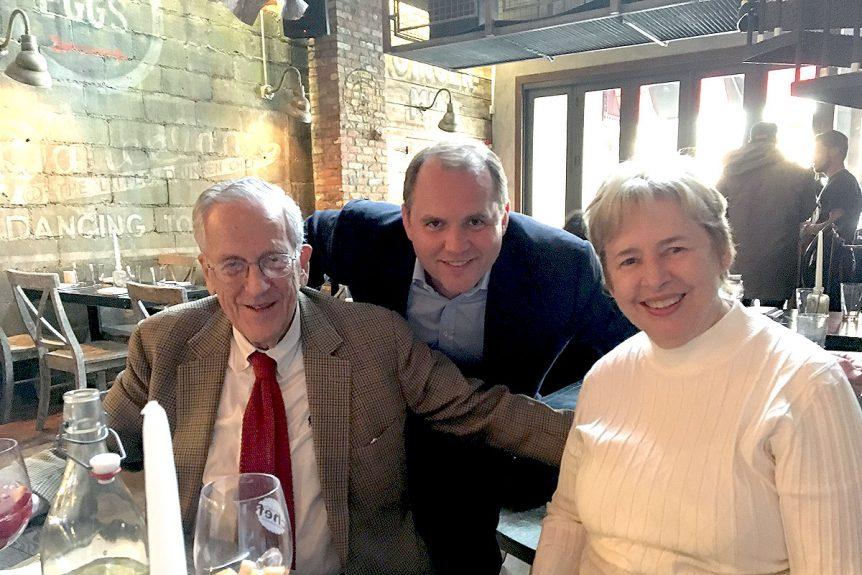 Left-to-Right: Oscar S. Pollock - Co-Founder, Tony Pandjiris- Associates Board Member & Mary Nan Pollock